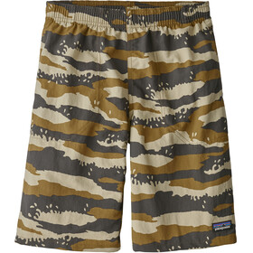 Patagonia Boys Baggies Longs Rock Camo: Coriander